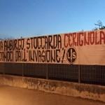 Striscione Contro i Migranti a Cerignola