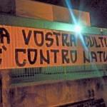 Striscione Offensivo All'Esterno Di Una Scuola a Cerignola(Fg)