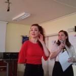 Mathilde Bonetti Ieri All'I.I.S.Righi Di Cerignola(Fg)