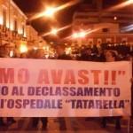25 Febbraio 2016;Manifestazione Ospedale''Tatarella(1)