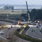 Incidente bus Catalogna, 'almeno un italiano a bordo'