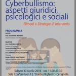 Cyberbullismo,ConvegnoAll'Ite''Alighieri''di Cerignola