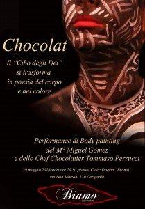 """Chocolat – """"Il Cibo degli Dei""""Il 29 Maggio a Cerignola Di;Redazione Speciale News Blog Tv"""