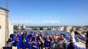 Inaugurato Ufficialmente L'Impianto Fotovoltaico Al Comune Di Cerignola Di;Mimmo Siena