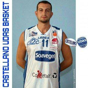 Arcangelo Leo,Nuovo Acquisto Castellano Udas Basket 2016-17