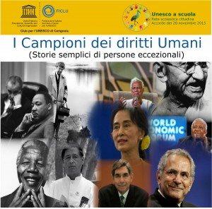 Mostra Sui Campioni dei Diritti Umani a Cerignola Nelle Scuole Cittadine