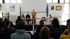 Inaugurato Il Laboratorio Televisivo All'Ite''Alighieri''a Cerignola Di;Mimmo Siena