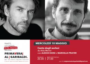 La Coppia Boni-Prayer Al ''Garibaldi''Di Lucera Per Alda Merini Di;Redazione Speciale News Web-Tv