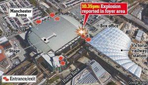 Attentato Terroristico a Manchester 19 Morti e 59 Feriti Di;Mimmo Siena