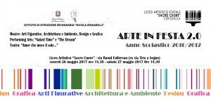 Arte 2.0 a Cerignola Il 26-27 Maggio Al Liceo Artistico''Sacro Cuore''di Cerignola Di;Mimmo Siena