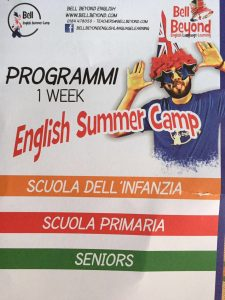 Partito a Cerignola English Summer Camp Al Circolo''Marconi''Di;Mimmo Siena