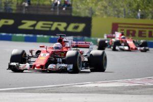 Doppietta Ferrari In Ungheria