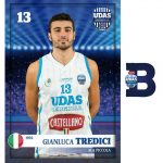 Gianluca Tredici,Castellano Udas Basket