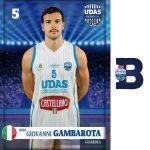 Giovanni Gambarota Castellano Udas Basket 2017-18