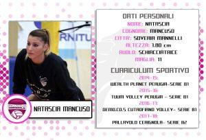 Natascia Mancuso Pallavolo Cerignola 2017-18