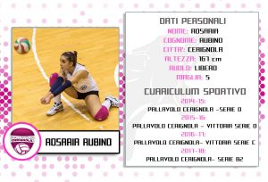 In B2 Riconfermata Rosaria Rubino Nuova Bandiera''Fucsia''