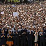 Barcellona:migliaia al minuto di silenzio