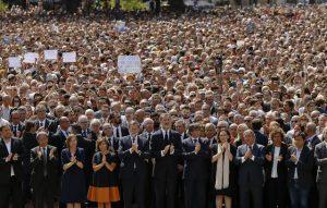 Barcellona Dice No Al Terrorismo La Risposta Della Spagna Arriva Subito Di;Mimmo Siena