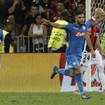 Champions League;Nizza- Napoli 0-2 Foto Ansa.it