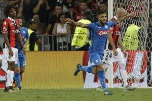 Champions League;Nizza- Napoli 0-2 Foto Ansa.it