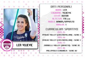 Lea Vujevic Pallavolo Cerignola 2017-18