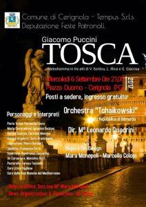 Grande Successo Per La Tosca a Cerignola In Piazza Duomo