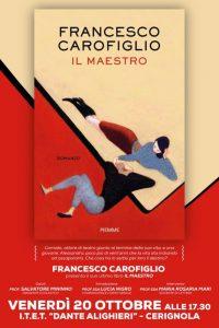 Il Maestro di Francesco Carofiglio Ospite All'Ite''Alighieri''di Cerignola Di;Mimmo Siena
