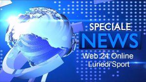 Logo Speciale News Web 24 Lunedi' Sport