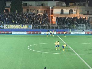 Calcio Serie D Audace Cerignola-Sarnese 4-1