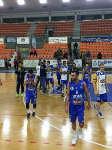 Basket Serie B Ortona-Castellano Udas 79-83