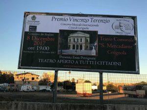 """""""Premio Vincenzo Terenzio""""a Cerignola Grande Successo Di Pubblico e Critica Di;Mimmo Siena"""