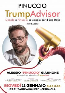 TrumpAdvisor a Cerignola Con Pinuccio All'Ite'p'Alighieri''