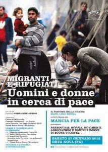 Marcia per la Pace Il 27 Gennaio ad Ortanova Di;Redazione Speciale News Web 24