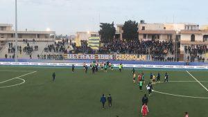 Calcio Serie D Audace Cerignola-Molfetta 2-0.