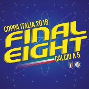 Logo Calcio a 5 Final Eight Coppa Puglia