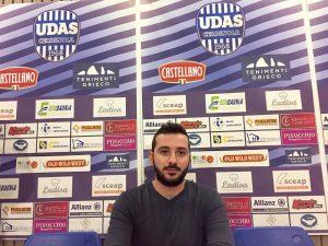 Nuovo Direttore Sportivo alla Castellano Udas e'Vincenzo Guadagni Di;Mimmo Siena