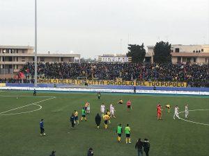 Calcio Serie D;Sfuma Al 90'La Vittoria Per L'Audace Cerignola 1-1 Con il Potenza Di;Mimmo Siena