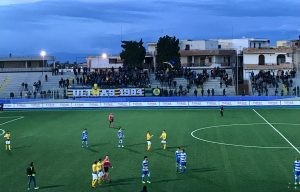 Calcio Coppa Puglia Audace Cerignola-Monticelli 1-0.